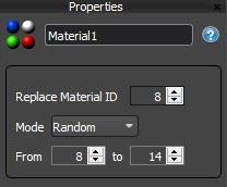 Material Settings
