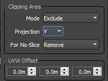 Clipping Settings