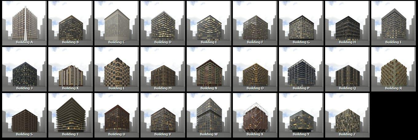 Buildings Library preview