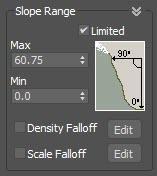 Slope Angle Settings