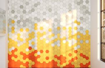 Creation Hexagon Tiling Effects with RailClone in 3DS Max