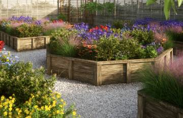 Raised Flower Beds Part 2 - Forest Pack